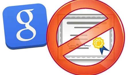 Google数字证书被干扰